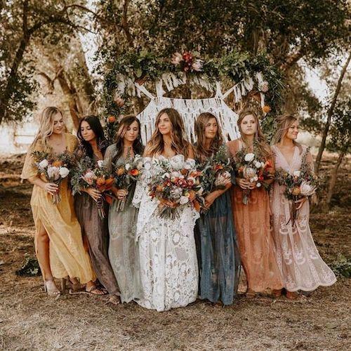 robe boheme chic pour invite mariage clearance