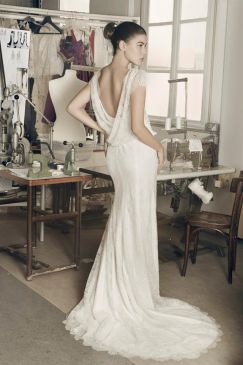 Robe de mariee cymbeline courte