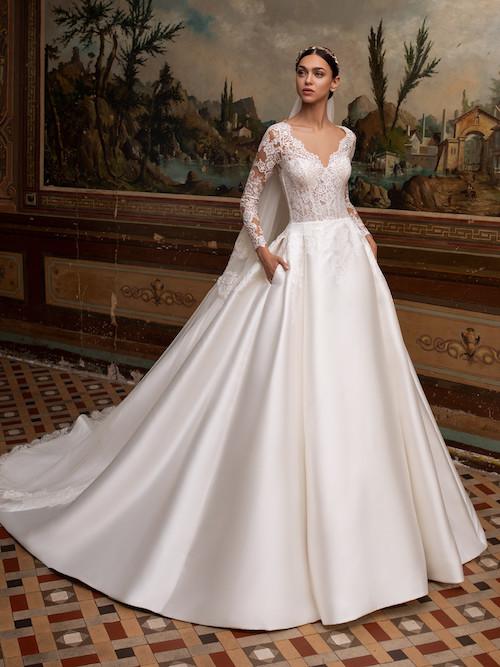 robe de mariée princesse morphologie