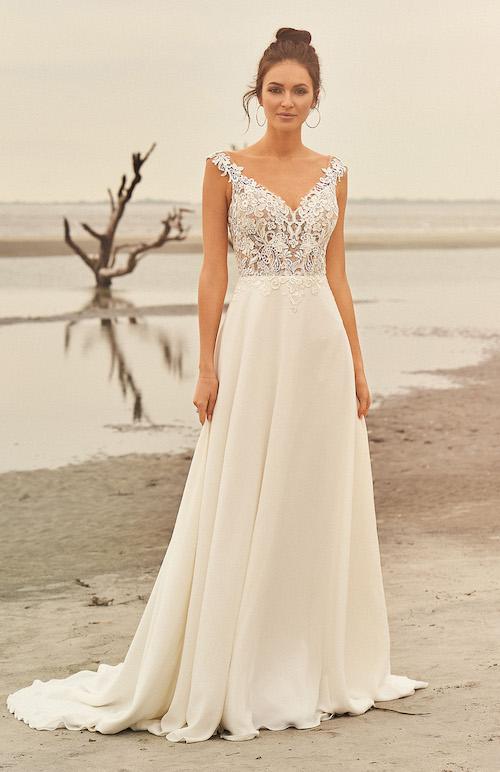 robe de mariée trapèze morphologie