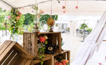 décoration mariage vintage