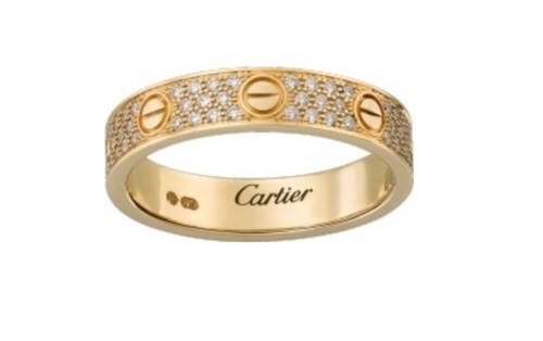 alliance de mariage originale cartier