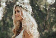 idées coiffures mariage Pinterest