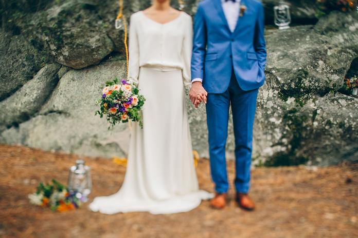 fleurs de mariage bouquet mariée