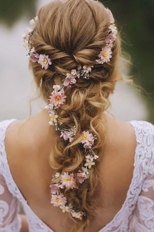 Les Plus Belles Coiffures De Mariage Vues Sur Pinterest
