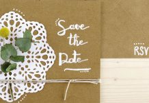DIY save the date, tuto do it yourself mariage