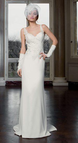b570c96725 Robe de mariée - Bella Créations - mariée.fr