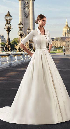Robe de mariée classe - mariée.fr