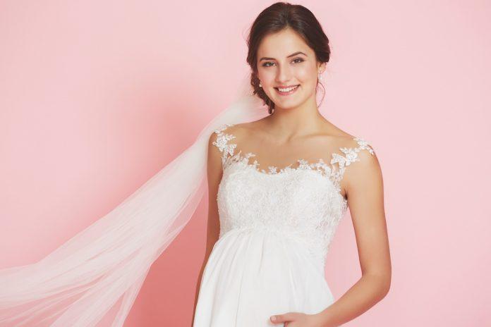 robe de mariée femme enceinte