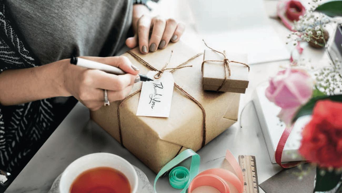 offrir des cadeaux aux  invités mariage