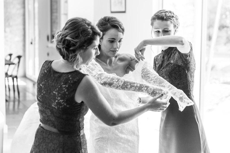préparatifs mariage, vrai mariage, mariée robe dentelle