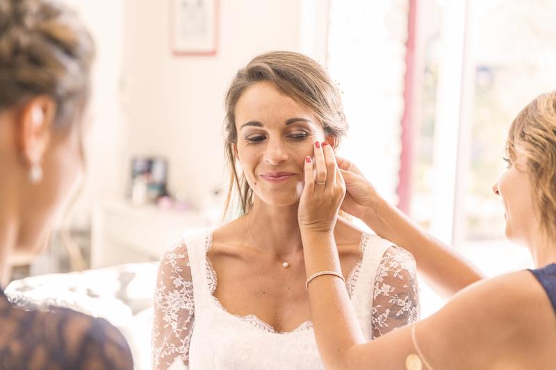 préparatifs mariage, maquillage mariage, vrai mariage