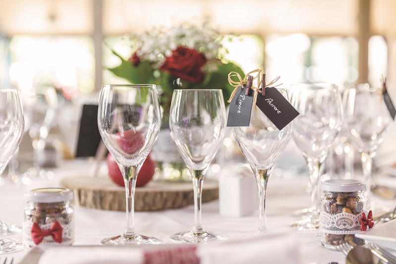 décoration table mariage, vrai mariage, témoignage