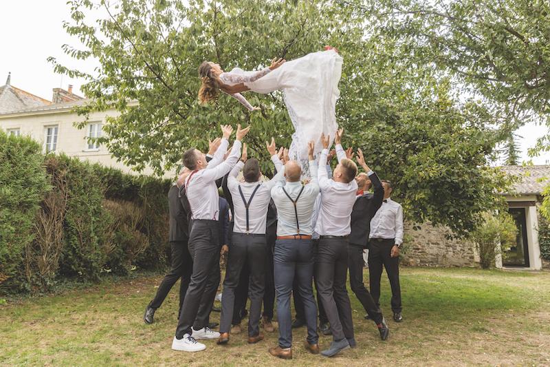 flying bride, vrai mariage, témoignage mariage