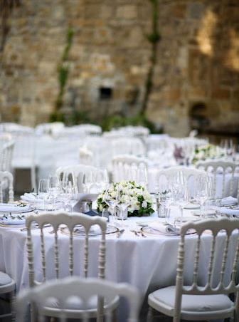 mariage décoration table