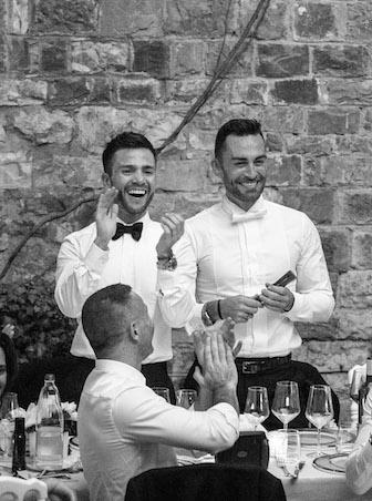 mariage gay, repas, témoignage mariage