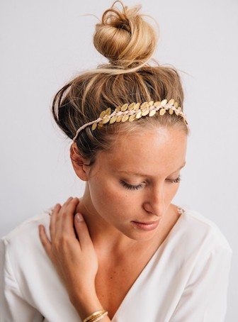 couronne coiffure mariage