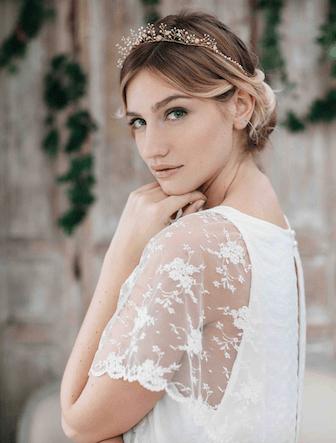 diadème coiffure mariage
