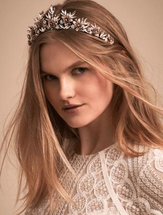 diadème coiffure mariage princesse