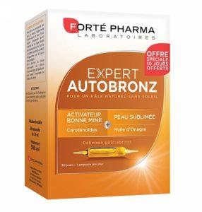 ampoules auto bronzantes forté pharma