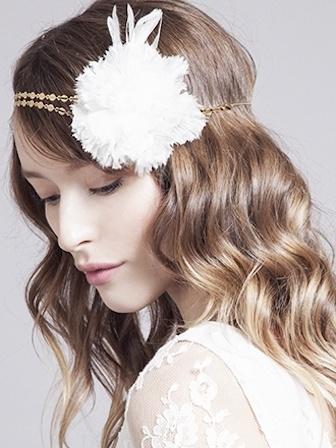 headband coiffure mariage accessoire