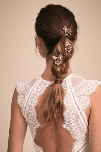 pics à cheveux coiffure mariage