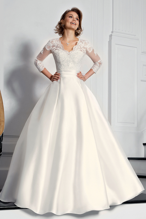 robe de mariée mikado