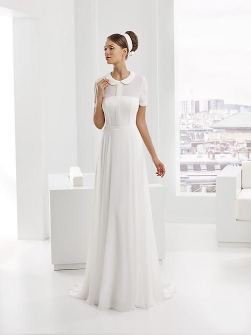 robe de mariée en mousseline
