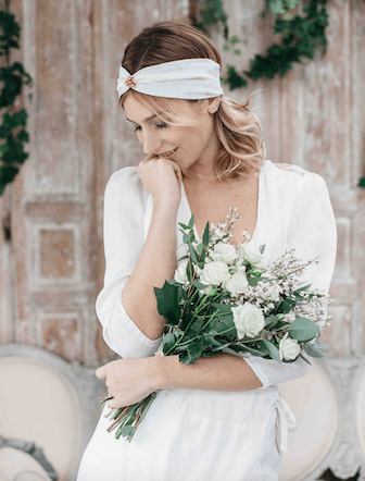 turban, accessoire coiffure mariage