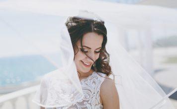 tradition mariage, voile de la mariée