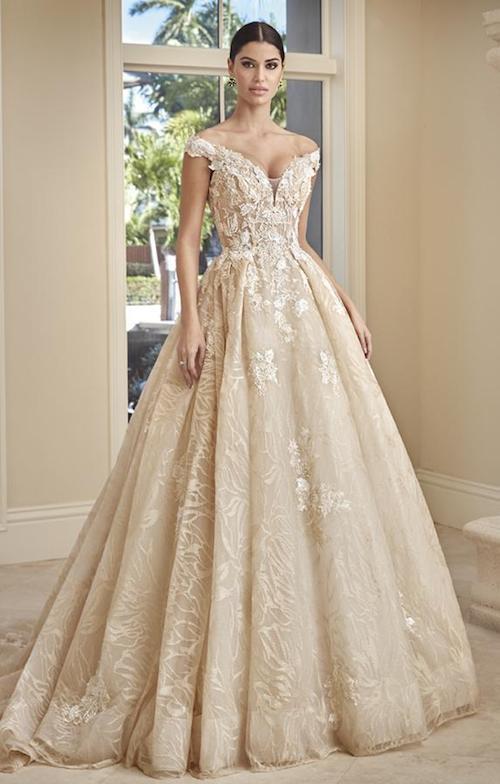 robe de mariée or 2020