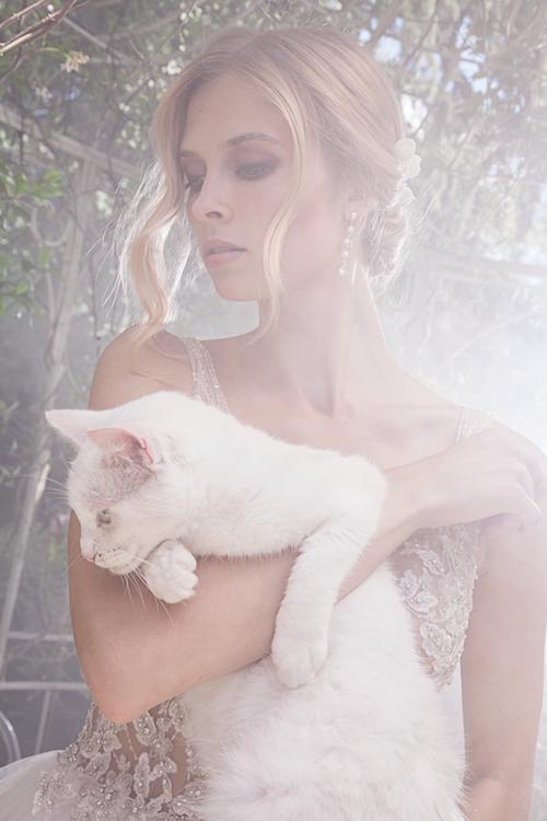 shooting mode mariage, mariée magazine