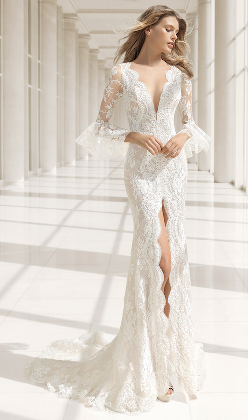 Rosa Clara Couture 2019, robe de mariée originale