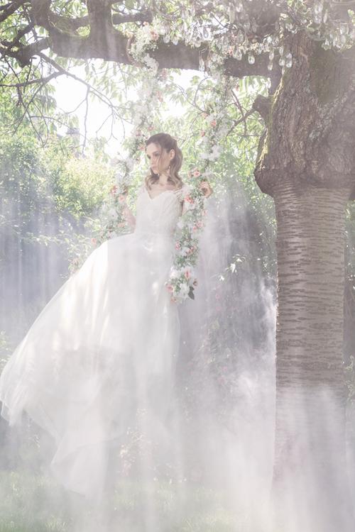 shooting mode mariage, mariée magazine robe de mariée