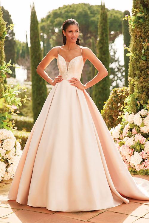 robe de mariée rose 2020