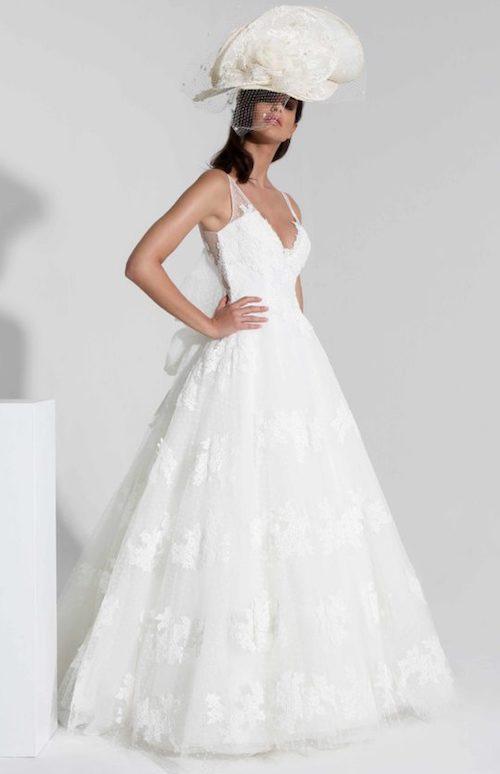 robe de mariée princesse et dentelle Cymbeline