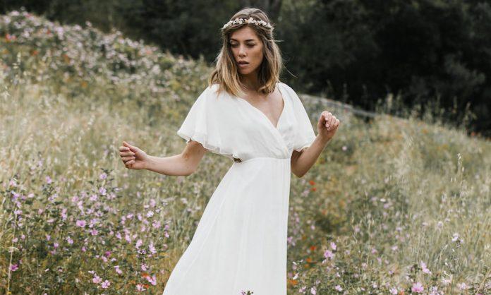 robe de mariée bohème, collection 2020