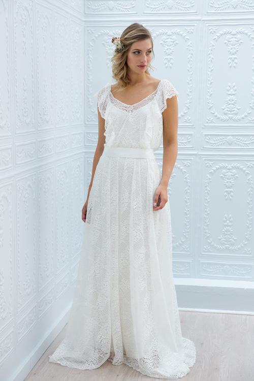 Collections 2019 Les Plus Belles Robes De Mariée Bohème En