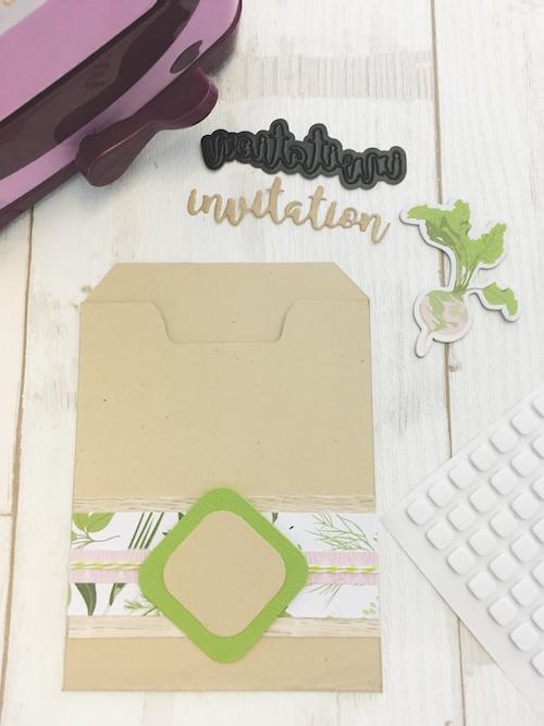 DIY invitation mariage