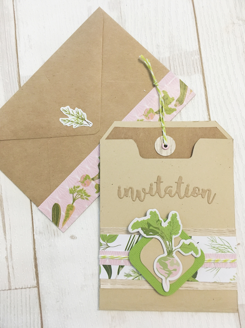 DIY création faire-part mariage, invitation mariage