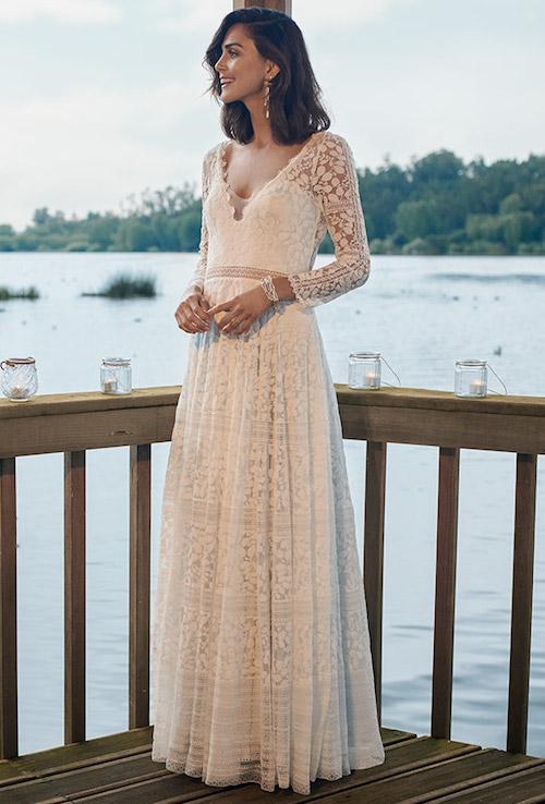 robe de mariée vintage Marylise bridal 2019