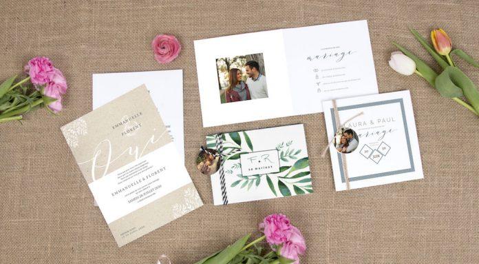 faire-part mariage Planet Cards