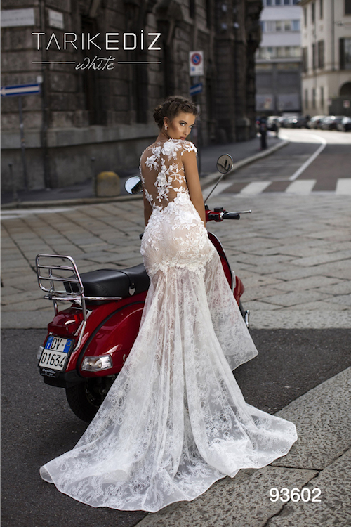 vente privée robes de mariée Tarik Ediz