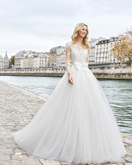 aire Barcelone collection 2019 robe princesse