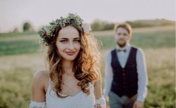 robe de mariée bohème, collection 2019
