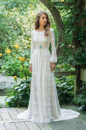 robe de mariée bohème Lillian west 2019