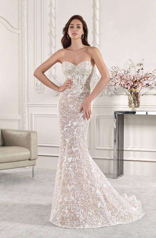robe de mariée avec bustier, demetrios collection 2019