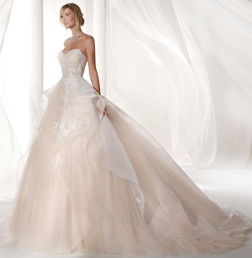 robe de mariée bustier style princesse, Nicole Spose 2019
