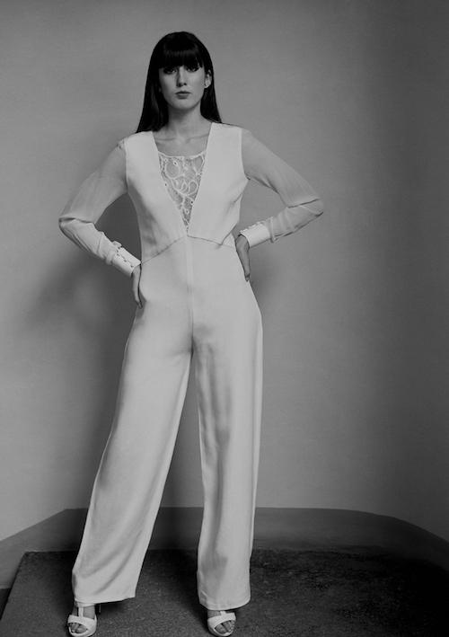 combinaison pantalon de mariage 2019 Caroline Quesnel