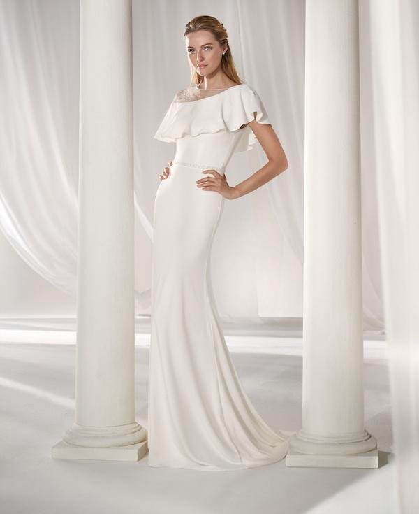 robe de mariée coupe fourreau